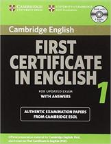 Посібник Cambridge FCE 1 Self-study Pack for update exam
