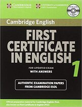 Книга для вчителя Cambridge FCE 1 Self-study Pack for update exam