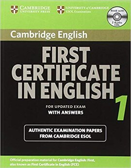Cambridge FCE 1 Self-study Pack for update exam - фото книги