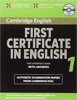 Cambridge FCE 1 Self-study Pack for update exam - фото книги