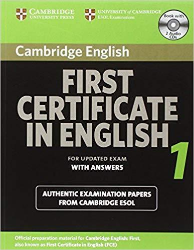 Комплект книг Cambridge FCE 1 Self-study Pack for update exam