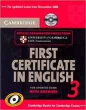 Cambridge FCE 3 Self-study Pack for update exam