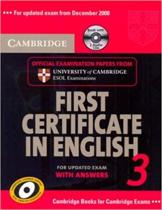 Комплект книг Cambridge FCE 3 Self-study Pack for update exam