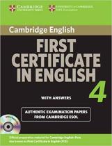 Комплект книг Cambridge FCE 4 Self-study Pack for update exam