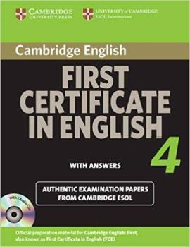 Cambridge FCE 4 Self-study Pack for update exam - фото книги