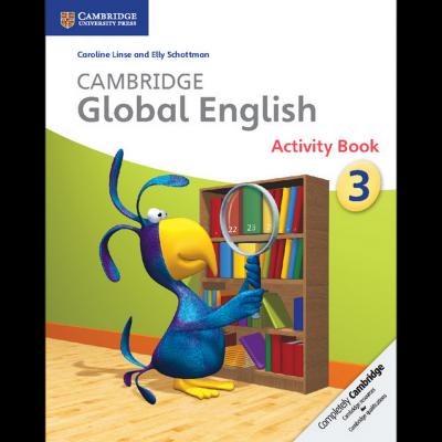Підручник Cambridge Global English Stage 3 Activity Book