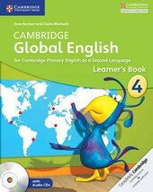 Cambridge Global English. Stage 4. Learner's Book with Audio CD - фото обкладинки книги