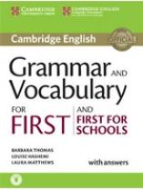 Cambridge Grammar and Vocabulary for Advanced with Answers+Audio (робочий зошит) - фото книги