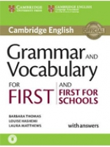 Cambridge Grammar and Vocabulary for Advanced with Answers+Audio (робочий зошит) - фото книги