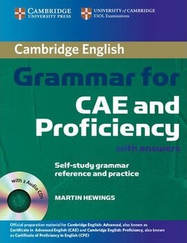 Cambridge Grammar for CAE and Proficiency Student Book with Answers and Audio CDs (посібник + 2 аудіодиски) - фото книги
