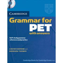 Cambridge Grammar for PET Book with answers and Audio CD (підручник+аудіодиск) - фото книги