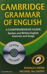 Cambridge Grammar of English Paperback with CD ROM: A Comprehensive (підручник+аудіодиск) - фото обкладинки книги