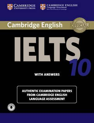 Підручник Cambridge IELTS 10 Student's Book with Answers with Audio CD