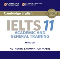 Посібник Cambridge IELTS 11 Audio CD
