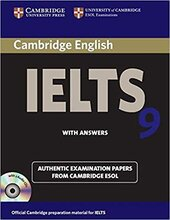 Cambridge IELTS 9 Student's Book with Answers and Audio CDs (2) - фото обкладинки книги