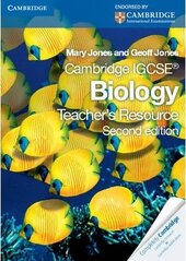 Cambridge IGCSE Biology Teacher's Resource CD-ROM - фото обкладинки книги