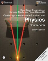 Cambridge International AS and A Level Physics Coursebook - фото обкладинки книги