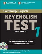 Cambridge KET 1 Self-study Pack (SB with answers and Audio CDs) - фото обкладинки книги