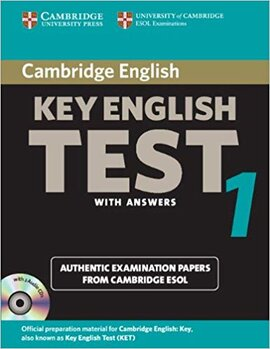 Cambridge KET 1 Self-study Pack (SB with answers and Audio CDs) - фото книги