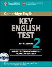Cambridge KET 2 Self-study Pack (SB with answers and Audio CDs) - фото обкладинки книги
