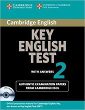 Cambridge KET 2 Self-study Pack (SB with answers and Audio CDs) - фото обкладинки книги