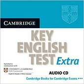 Cambridge KET Extra Audio CD - фото обкладинки книги