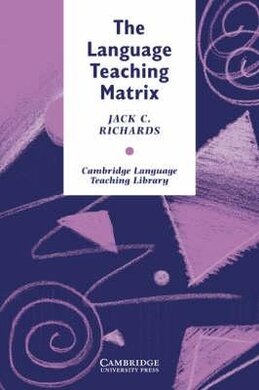 Cambridge Language Teaching Library: The Language Teaching Matrix - фото книги