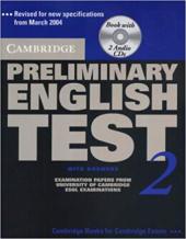 Cambridge PET 2 Self-study Pack