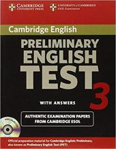 Cambridge PET 3 Self-study Pack