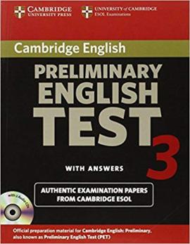 Cambridge PET 3 Self-study Pack - фото книги