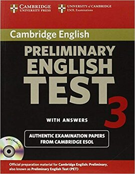 Cambridge PET 3 Self-study Pack - фото книги
