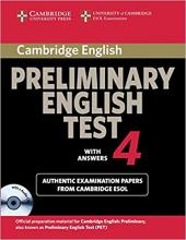 Cambridge PET 4 Self-study Pack - фото обкладинки книги