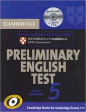 Cambridge PET 5 Self-study Pack