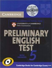 Посібник Cambridge PET 5 Self-study Pack