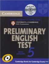 Посібник Cambridge PET 5 Self-study Pack