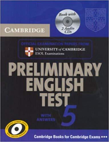 Комплект книг Cambridge PET 5 Self-study Pack