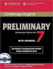 Cambridge PET 7 Student's Book Pack - фото обкладинки книги