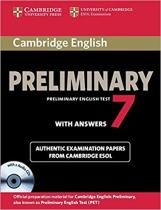 Cambridge PET 7 Student's Book Pack