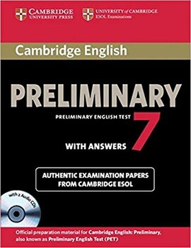 Cambridge PET 7 Student's Book Pack - фото книги
