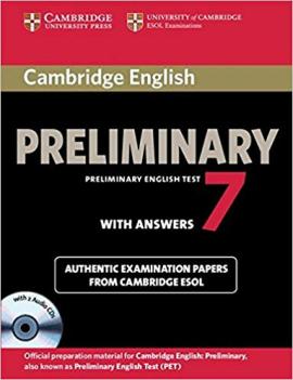 Cambridge PET 7 Student's Book Pack - фото книги