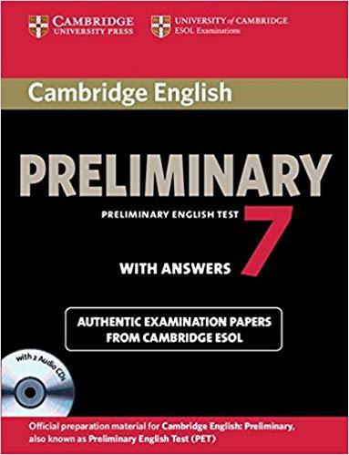 Комплект книг Cambridge PET 7 Student's Book Pack