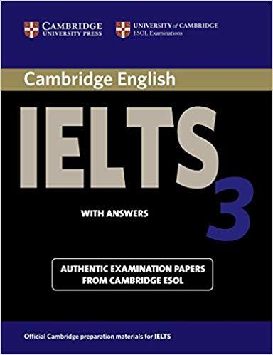 Комплект книг Cambridge Practice Tests IELTS 3