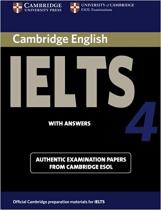 Комплект книг Cambridge Practice Tests IELTS 4