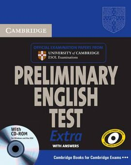 Cambridge Preliminary English Test Extra Self Study Pack + CD-ROM (дод.збірник тестів + відп. + CD-ROM) - фото книги