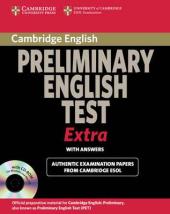 Cambridge Preliminary English Test Extra Student's Book with answers + CD (підручник + відповіді + аудіодиск) - фото обкладинки книги