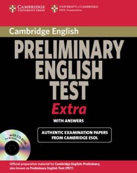 Cambridge Preliminary English Test Extra Student's Book with answers + CD (підручник + відповіді + аудіодиск) - фото книги