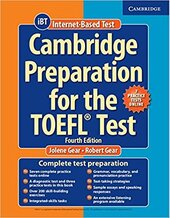 Cambridge Preparation TOEFL Test 4th Ed with Online Practice Tests+CD - фото обкладинки книги