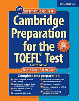 Cambridge Preparation TOEFL Test 4th Ed with Online Practice Tests (підручник+аудіодиск) - фото книги