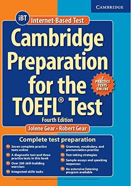 Cambridge Preparation TOEFL Test+Online Practice Tests+СD (підручник+аудіодиск) - фото книги