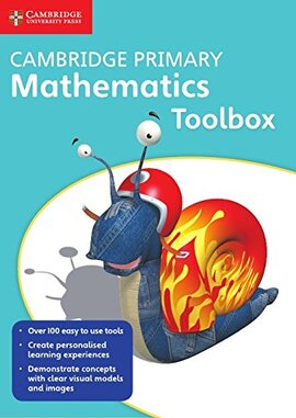 Cambridge Primary Mathematics Toolbox DVD-ROM (підручник) - фото книги
